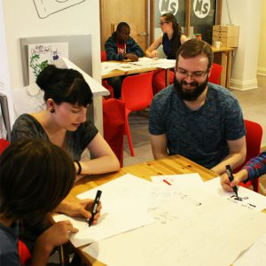 storytelling and game design - improv - improvibe